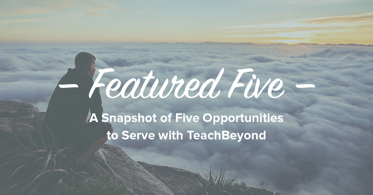Featured-Five-ad-TeachBeyond-Banner-10