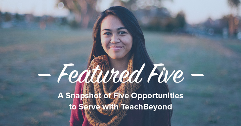 Featured-Five-ad-TeachBeyond-Banner