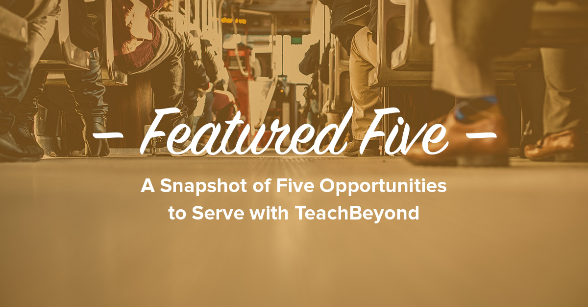 Featured-Five-ad-TeachBeyond-Banner-6