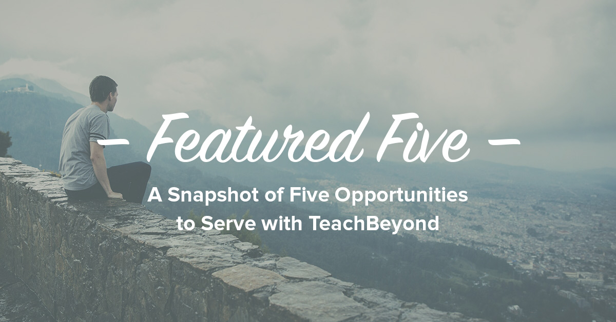 Featured-Five-ad-TeachBeyond-Banner-7