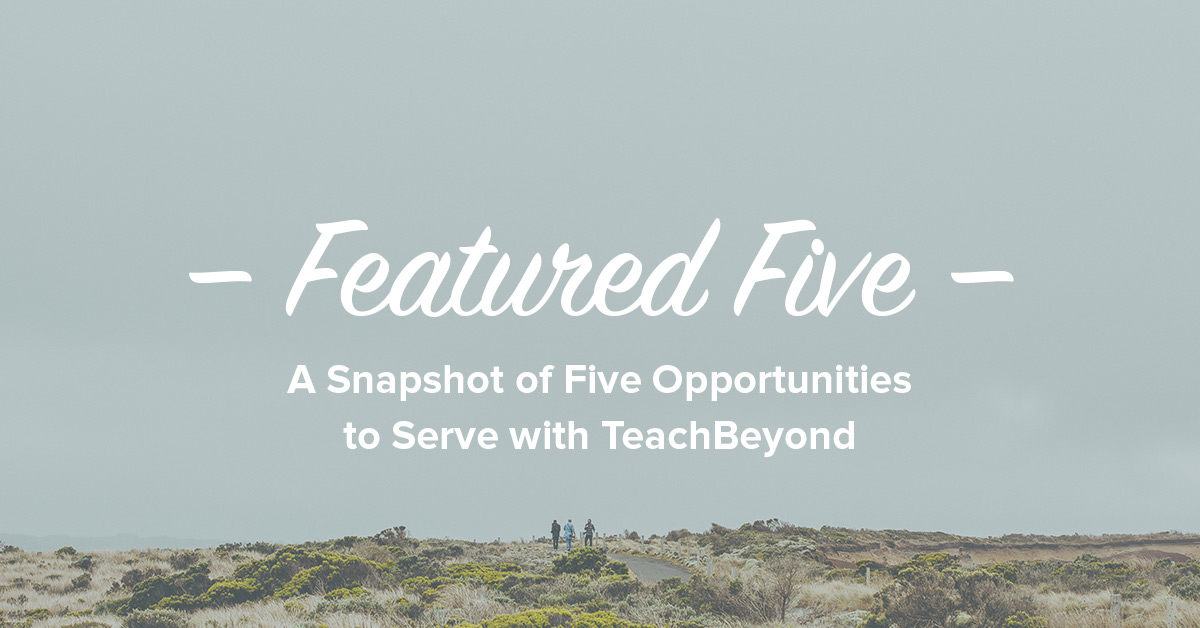 Featured-Five-ad-TeachBeyond-Banner-8
