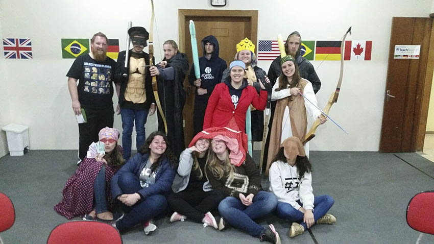Skit with costumes