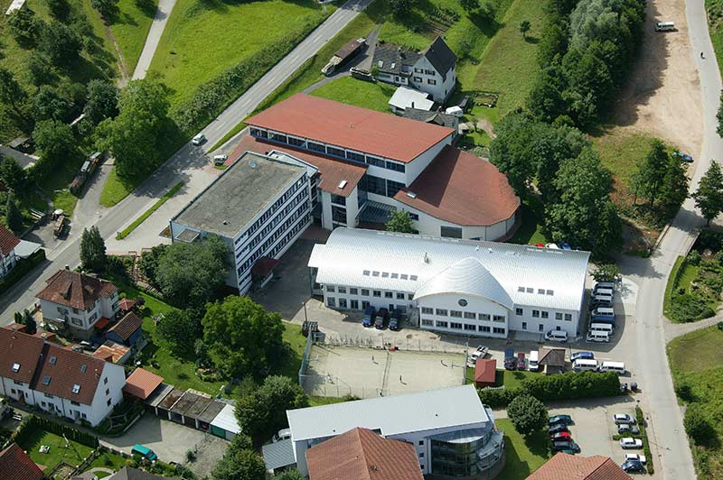 Black Forest Academy overhead shot